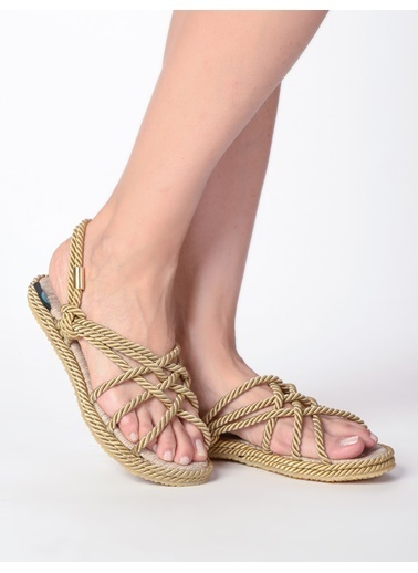 Mecrea Sandalet Bej